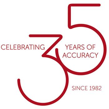 Celebrating 35 years of accuracy
