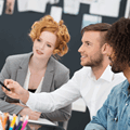 People joining online training