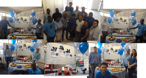 Staff from HemoCue South Africa participating in WDD event