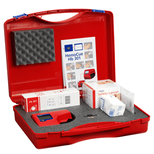 HemoCue 301 System Kit for anemia screening